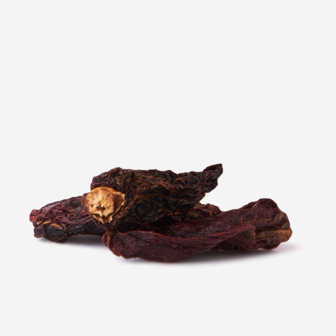 """WHOLE DRIED CHILLIES """"CHIPOTLE  MORITA"""" - HOT -  75g - MEXICO"""