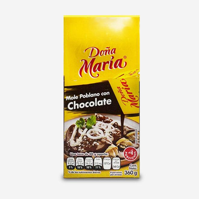 MOLE POBLANO WITH CHOCOLATE - 360g - MEXICO