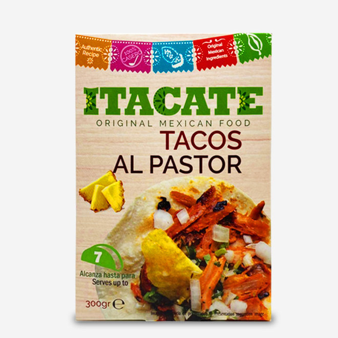 "PORK MEAT WITH ANANAS ""TACOS AL PASTOR"" - TACO FILLING - 300g - MEXICO"