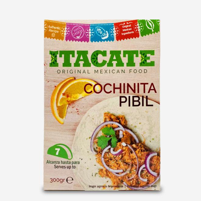 "SMOKED PORK WITH SPICIES ""COCHINITA PIBIL""- TACO FILLING - 300g - MEXICO"