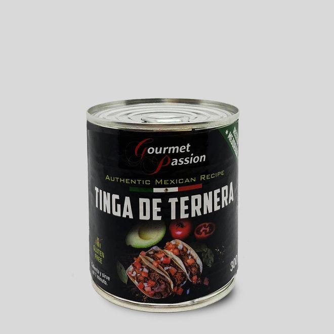 TINGA DE TERNERA - KALBFLEISCH MIT GEWÜRZEN  TACOFÜLLUNG - 300g - MEXIKO