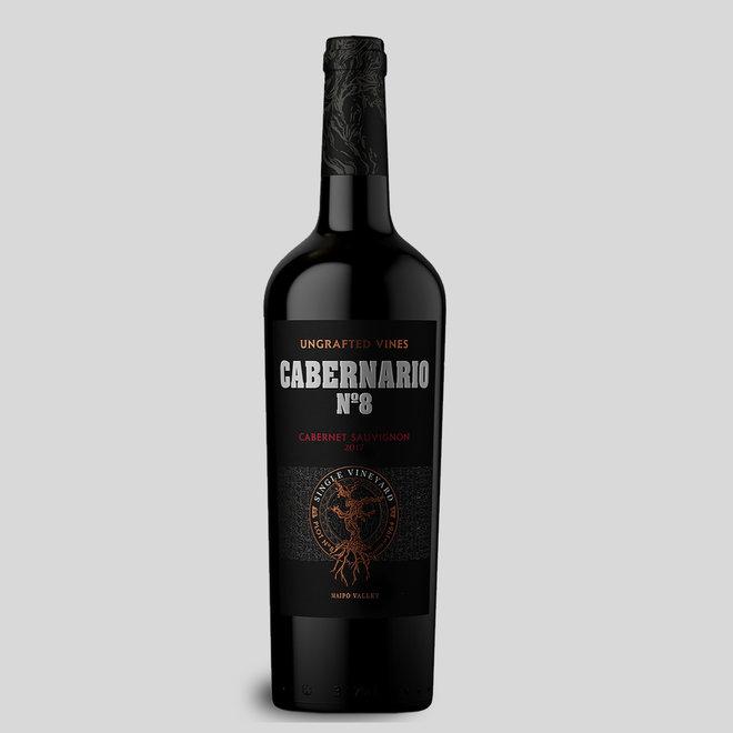 CABERNARIO N°8  - 100% UNGRAFTED CABERNET SAUVIGNON - 0,75L - 2017 - CHILE