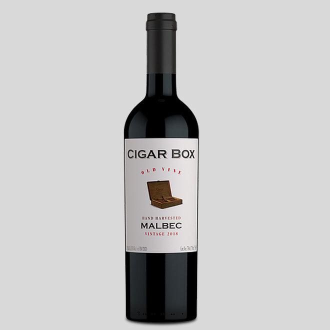 CIGAR BOX -  100% MALBEC - 0,75L - 2018 - ARGENTINA