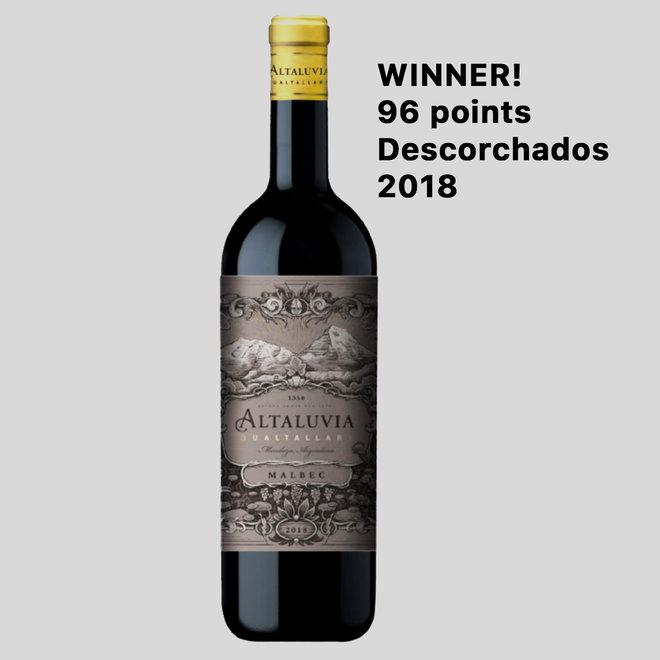 ALTALUVIA -  100% MALBEC - 0,75L - 2018 - ARGENTINIEN HERVORRAGEND!