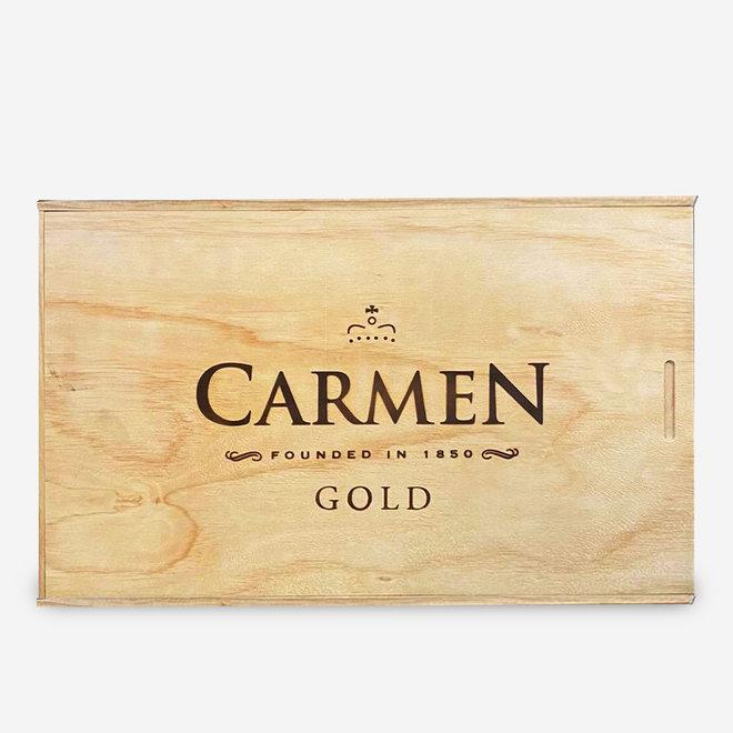 GOLD RESERVE - 6 BOTTLE CABERNET SAUVIGNON IN WOOD BOX - 0,75L - 2017 - CHILE - 99 Points by Descorchados 2018!