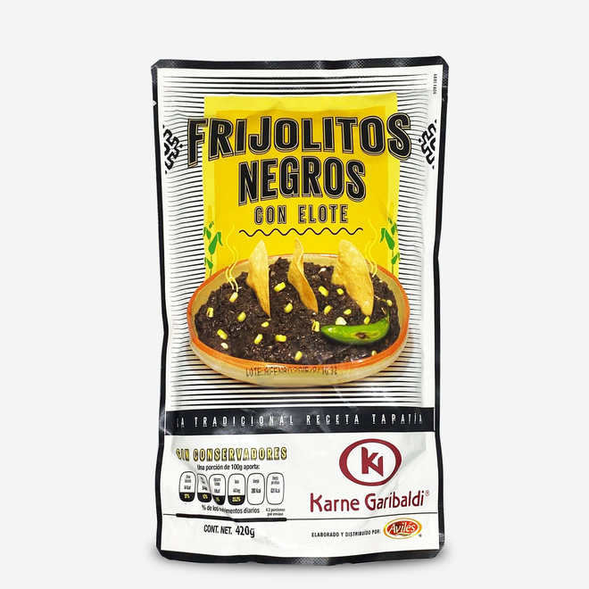 BLACK BEAN MUST WITH ELOTE CORN - 420g - MEXICO