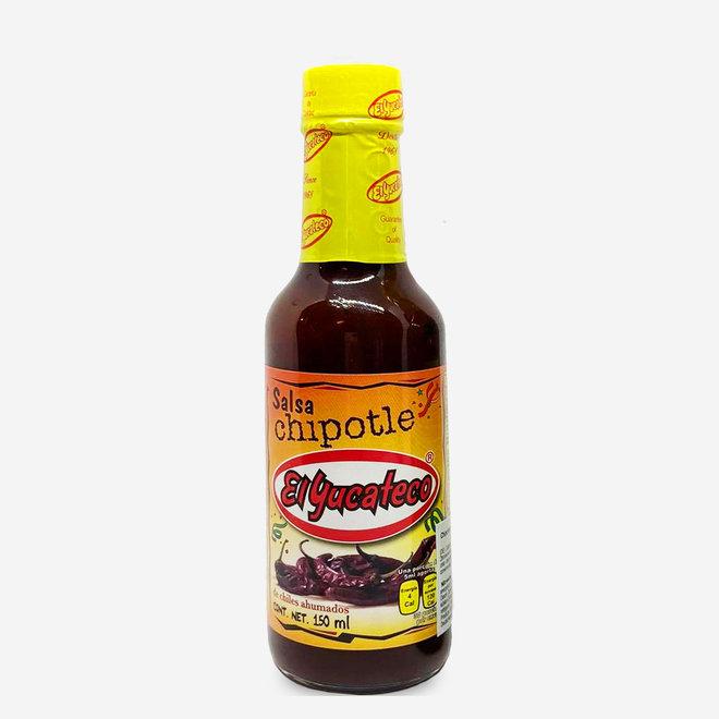 SCHARFE CHIPOTLE CHILI SAUCE - 150ml - MEXIKO