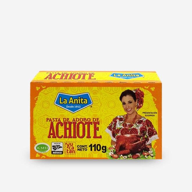 PASTA DE ADOBO DE ACHIOTE - 110g - MÉXICO