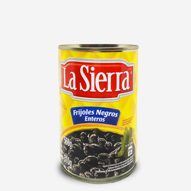 WHOLE BLACK BEANS - 560g - MEXICO
