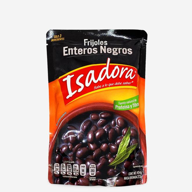 FRIJOLES ENTEROS NEGROS - WHOLE BLACK BEAN MUST - 454g - MEXICO