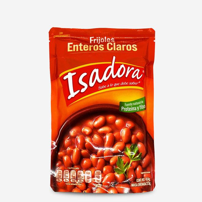 FRIJOLES ENTEROS CLAROS - GANZE HELLE BOHNEN - 454g - MEXIKO