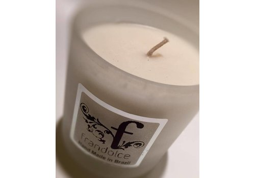 "Frandolce Organic candle Frandolce, ""Castanha & Papaia"" Chesnut & Papaya"