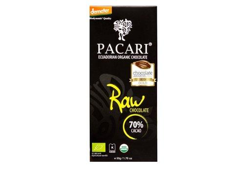 PACARI Bio Chocolate Bar 70% Raw