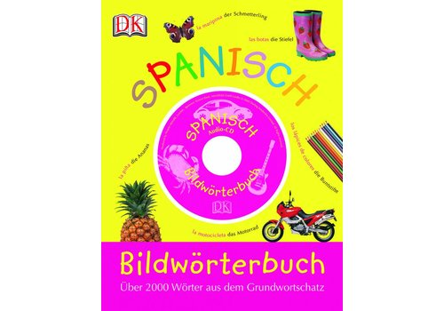DORLING KINDERSLEY Spanisch Bildwörterbuch, Diccionario ilustrado en español-alemán