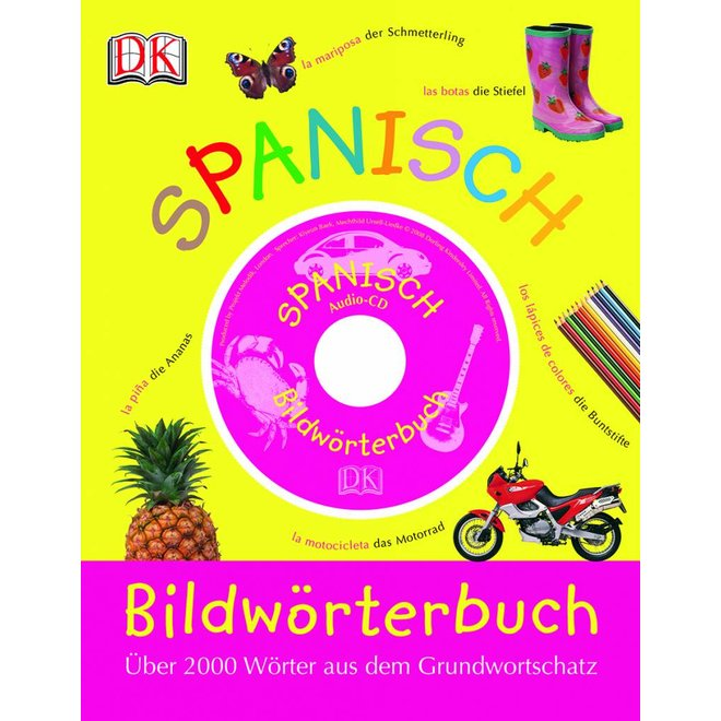 Spanisch Bildwörterbuch, Ilustrated Dictionary Spanish-German