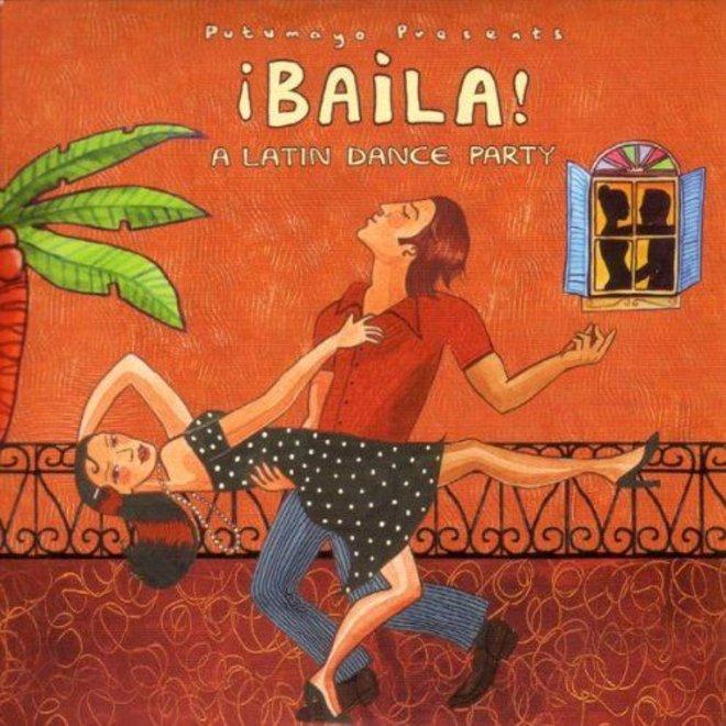 Baila! A latin dance party, Putumayo