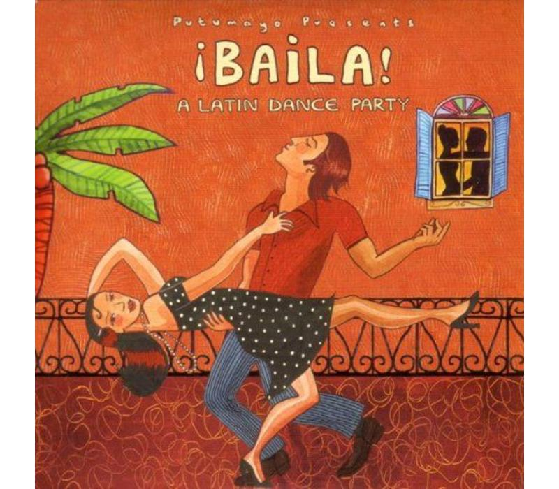 Baila! A latin dance party, Putumayo