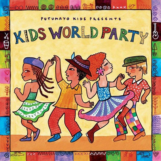Latin party, Putumayo - CopyKids world party, Putumayo