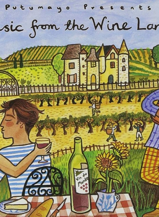 Music from the Wine Lands, Putumayo