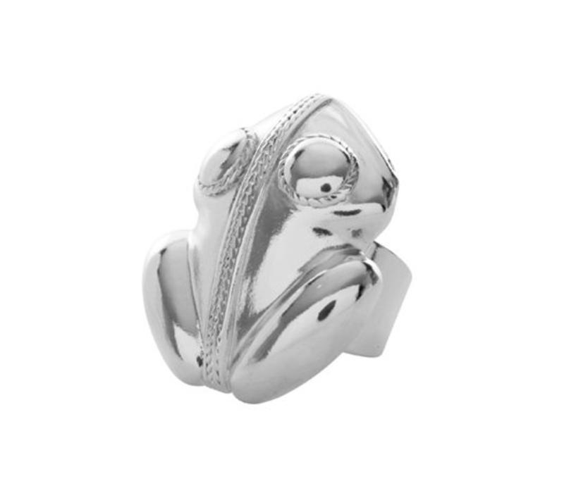 Ring Flor Amazona, El Dorado Silver