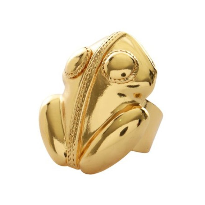Ring Flor Amazona, El Dorado Silver Gold