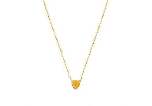 FLOR AMAZONA Collier Flor Amazona, Jaguar Gold