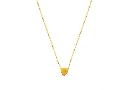 Flor Amazona Necklace Flor Amazona, Jaguar Gold
