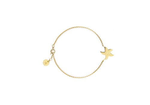 FLOR AMAZONA Armband Flor Amazona, Starfish Gold
