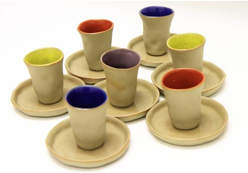 "MARIO BRANDAO Espresso cup ceramic ""Favella Collection"""