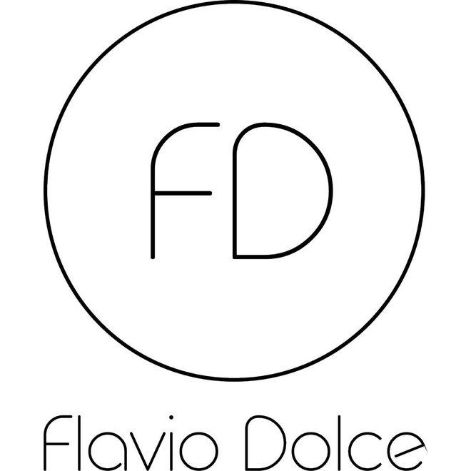 Ledertasche, Flower print, Gelb Flavio Dolce