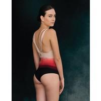 Bodysuit Entreaguas, Coral turns