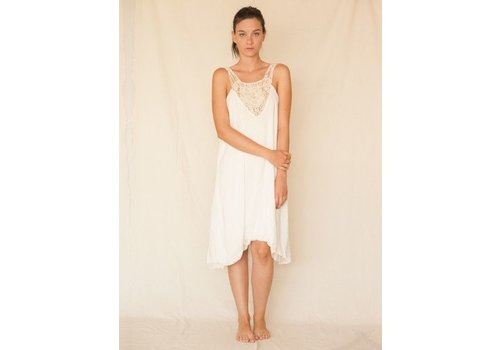 ENTREAGUAS Kleid Ivory Waterfall, Entreaguas