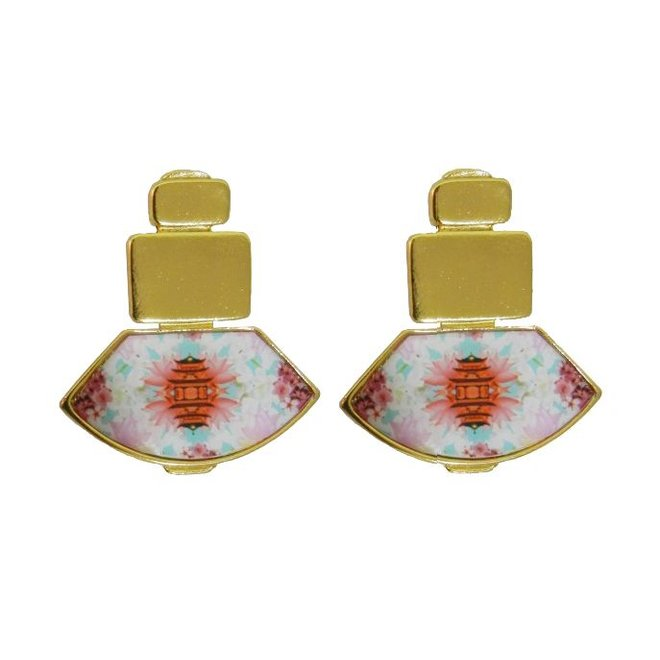 Earring Pacific Paradox, Flor Amazona