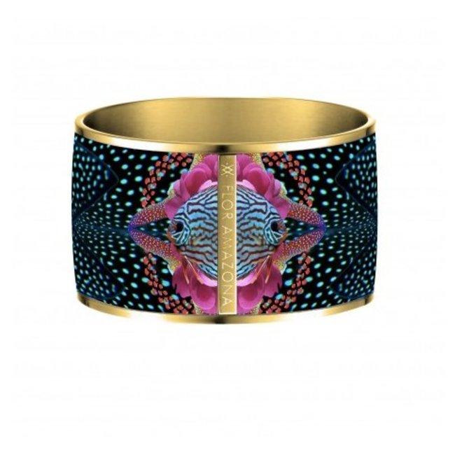 Armband Flor Amazona, Atlantic Manta, vergoldet 24 Kt