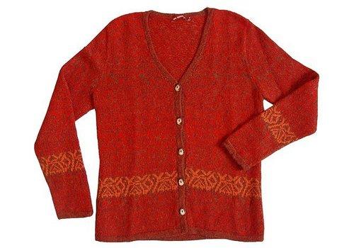 APU KUNTUR Sweater Chimu, 100% Alpaca lana superfina