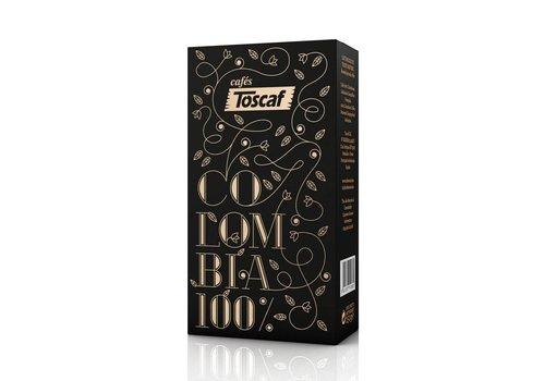 TOSCAF CAFÈ DE COLOMBIA 100% ARABICA, MOLIDO - 250g