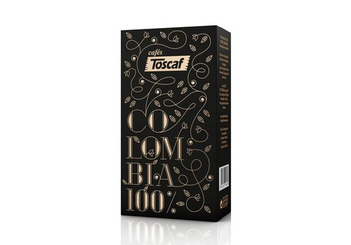 TOSCAF COFFEE COLOMBIA 100% ARABICA, GROUNDED - 250g