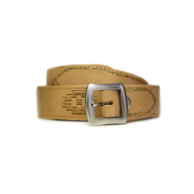 """LEATHER BELT """"PAMPA"""" 100% LEATHER FROM URUGUAY"""