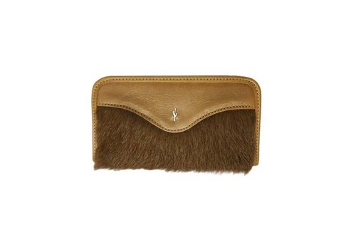Wallet Leather & Fur