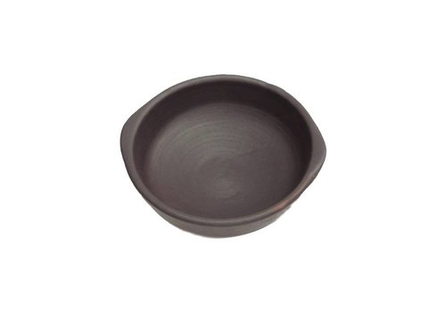 Bowl, Ceramic Pomaire Brown, Pastelera