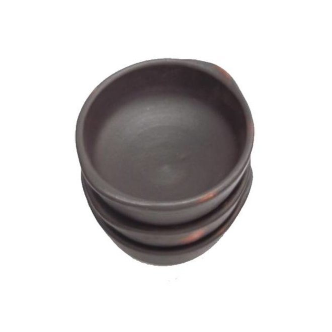 Bowl, Ceramic Pomaire Brown, Chupera