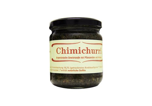 Delicatino Chimichurri argentinische Sauce mit Pflanzenöl und Kräuter