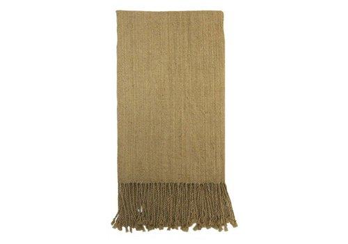 Scarf Beige, 100% Alpaca Wool