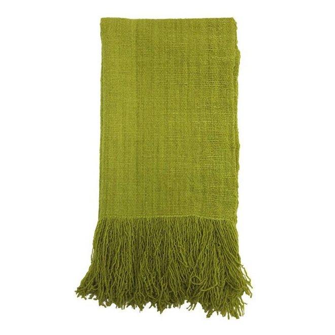 Bufanda Carmin rojo, 100% lana de alpaca