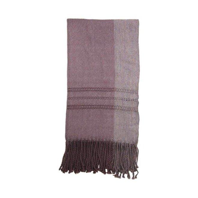 Bufanda Violeta, 100% lana de alpaca