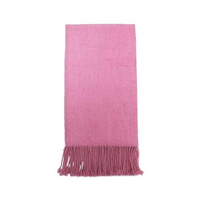 Bufanda Rosa, 100% lana de alpaca