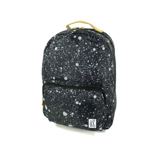 Classic Backpack spatters allover zwart