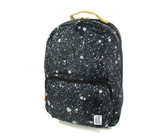 Image of Classic Backpack spatters allover zwart