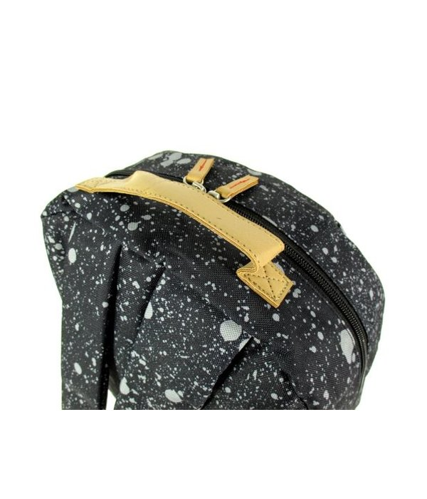 The Pack Society Classic Backpack spatters allover zwart