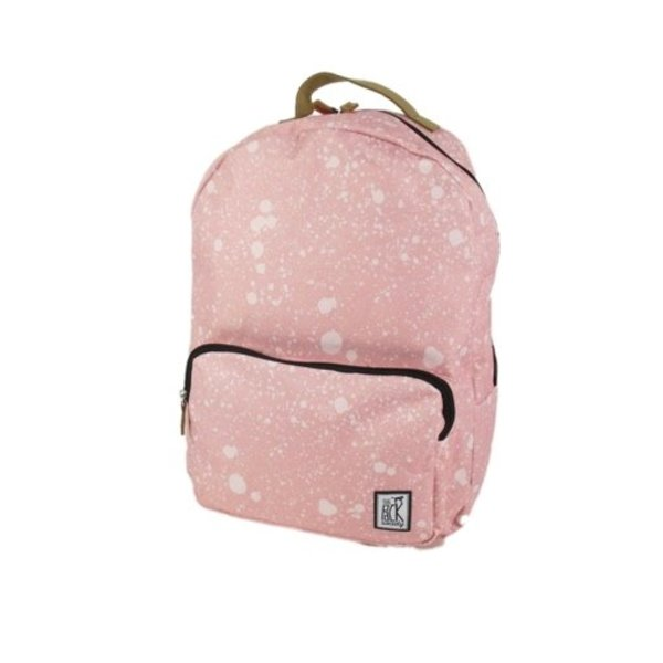 Classic Backpack Coral spatters allover roze